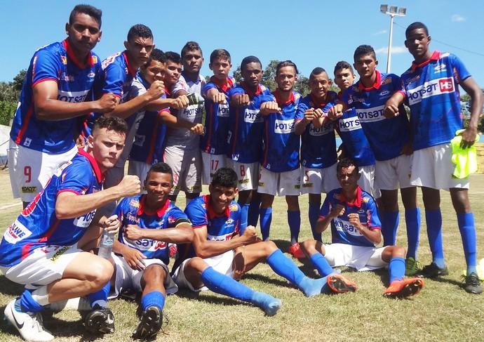 Equipe sub-19 do Enxuga Rato no Campeonato Piauiense (Foto: Reinaldo Barros Torres )