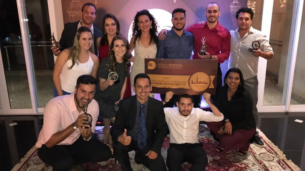 Vencedores da edição 2017 do Prêmio Morena de Criação Publicitária (Foto: Alysson Maruyama/TV Morena)