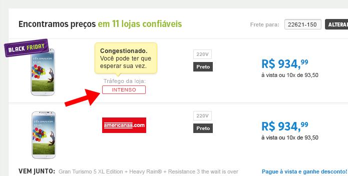 Evite lojas marcadas em vermelho com Intenso (Foto: Divulgação/Zoom)