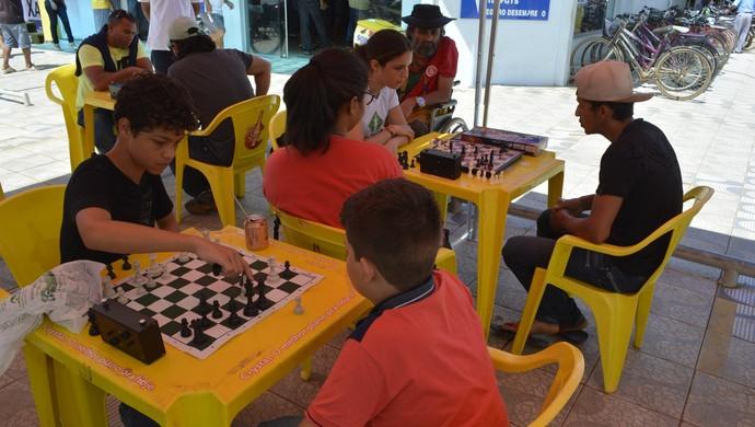 Festival de Xadrez é realizado em Ariquemes (Foto: Diêgo Holanda)
