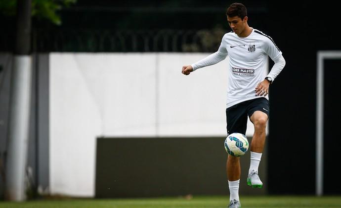 Gustavo Henrique Santos (Foto: Ricardo Saibun/Santos FC)