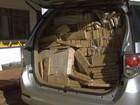 Polícia apreende toneladas de maconha em rodovia de Andradina