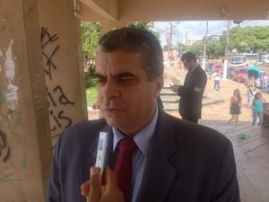 Augusto Almeida, presidente do sindicato dos policiais federais no Amapá (Foto: John Pacheco/G1)