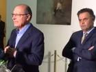 PSDB não vai proibir ninguém de aceitar convite de Temer, diz Alckmin