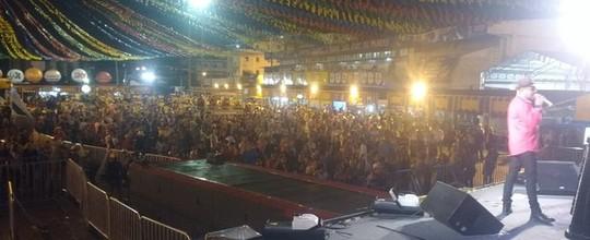 Noite de São João reúne 50 mil pessoas no Parque do Povo (Walysson Melo/G1)