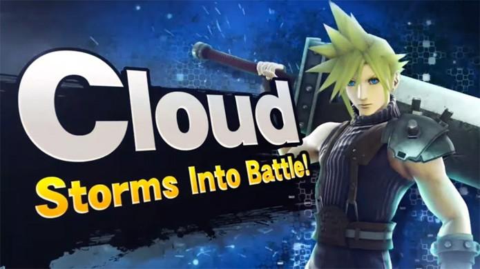 Cloud Strife de Final Fantasy 7 lutará com personagens da Nintendo em Super Smash Bros. (Foto: Reprodução/Polygon)