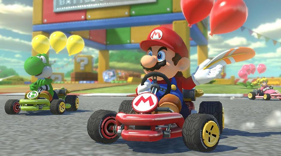 A Nintendo anunciou que Mario Kart deve ser lançado para celular no ano que vem (Foto: Reprodução)