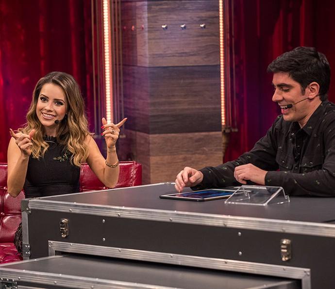 Sandy revela que mentiu em entrevista (Foto: Inácio Moraes/Gshow)