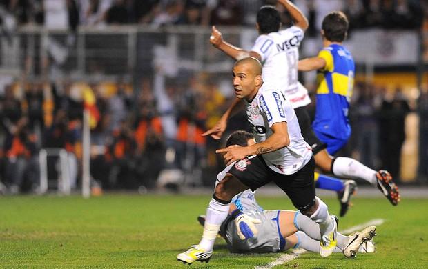 Emerson, Corinthians x Boca Juniors (Foto: Marcos Ribolli  / Globoesporte.com)