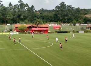 CT Laudo Natel, Cotia, São Paulo, São Paulo x Joinville, Copa do Brasil, sub-20 (Foto: Emilio Botta)