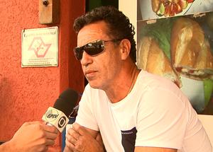 Careca, ex-atacante da seleção brasileira (Foto: Reprodução/ EPTV)
