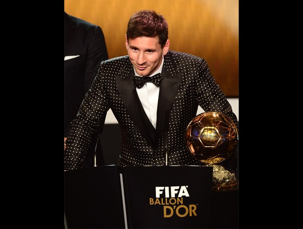 messi fifa prêmio melhor do mundo bola de ouro (Foto: AFP)