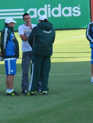 Tiago Alves Palmeiras treino (Foto: Gustavo Serbonchini)