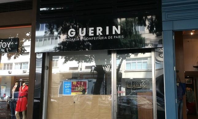 A nova loja da Boulangerie Guerin, próxima da praça N.S. da Paz, em Ipanema