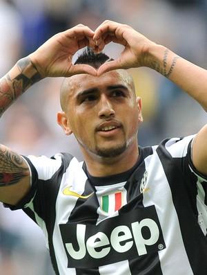 Vidal gol Juventus (Foto: Reuters)
