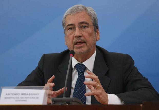 O ministro Antonio Imbassahy (Foto: José Cruz/Agência Brasil)