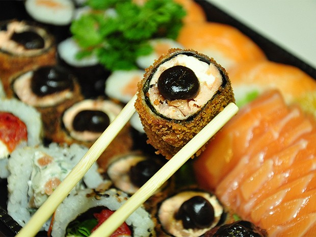Variedades de sushi serão servidos em festival em Ribeirão Preto, SP (Foto: Gislaine Oliveira/Divulgação)