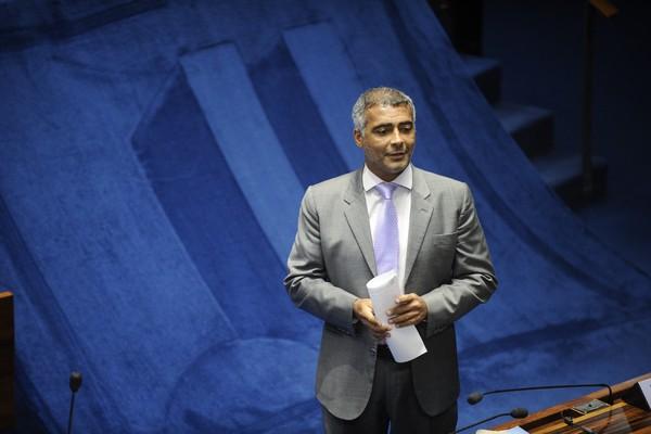 INQUÉRITO - A PGR quer investigar Romário pela suspeita de corrupção e lavagem de dinheiro  (Foto: Jefferson Rudy/Agência Senado)