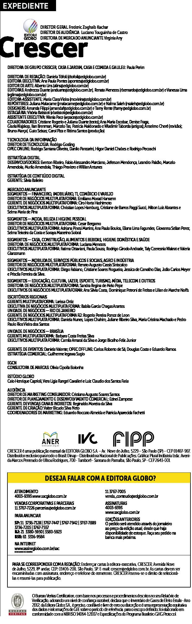 EXPEDIENTE CF280 (Foto: CRESCER)