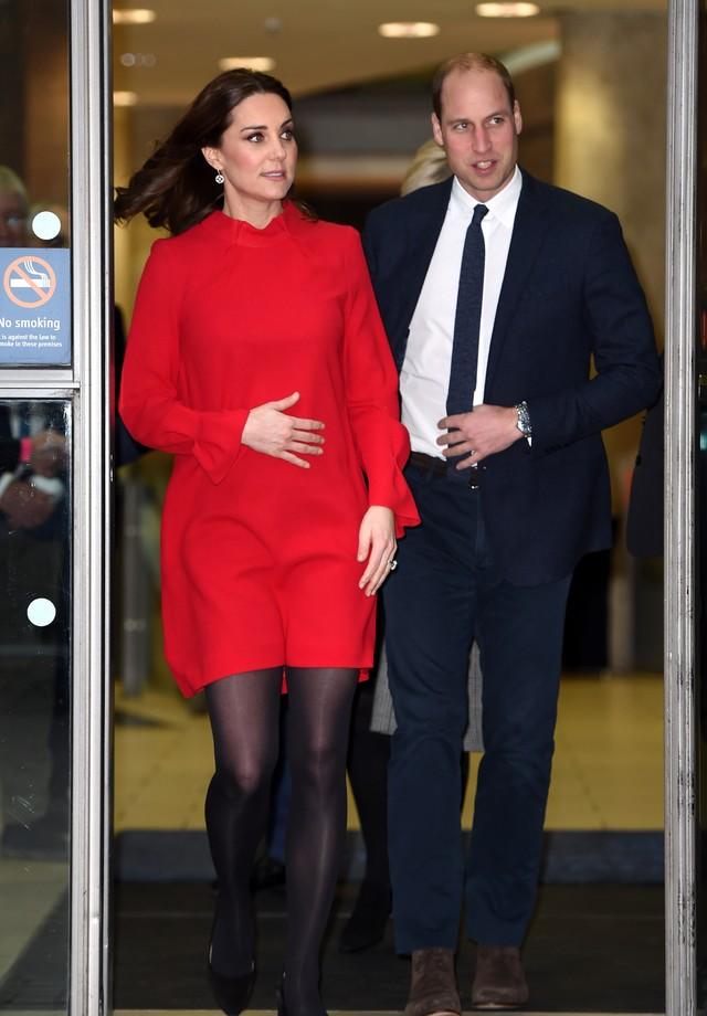 Kate Middleton e príncipe William (Foto: Eddie Mulholland - WPA Pool/Getty Images)