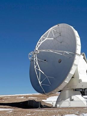 Antenas contam com tecnologia que permite observar o sol sem danificar o equipamento (Foto: Divlugação/ ESO)