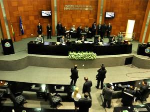 Deputados estaduais retomam sessões ordinárias nesta terça-feira (24). (Foto: Renê Dióz / G1)