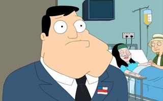 Stan fica surpreso ao descobrir que pode não ser o pai biológico de Hayley (Foto: Divulgação / Twentieth Century Fox)