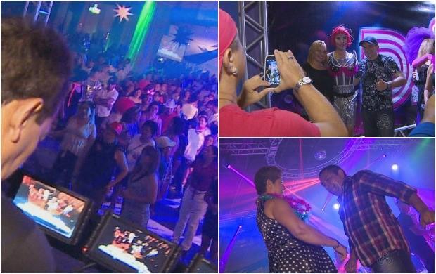 Cerca de 4 mil pessoas prestigiaram a 'Studio Disco'  (Foto: Bom Dia Amazônia)