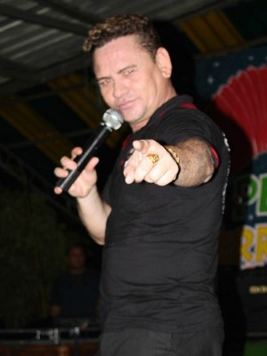 Berg Guerra, que estourou com a música 'Mi vida', diz estar descontente com a mídia (Foto: Tiago Melo/G1 AM)