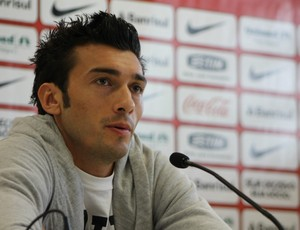 Dátolo, meia do Inter (Foto: Diego Guichard/GLOBOESPORTE.COM)