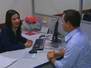 Entrevista de emprego (Foto: Reprodução/TV Globo)