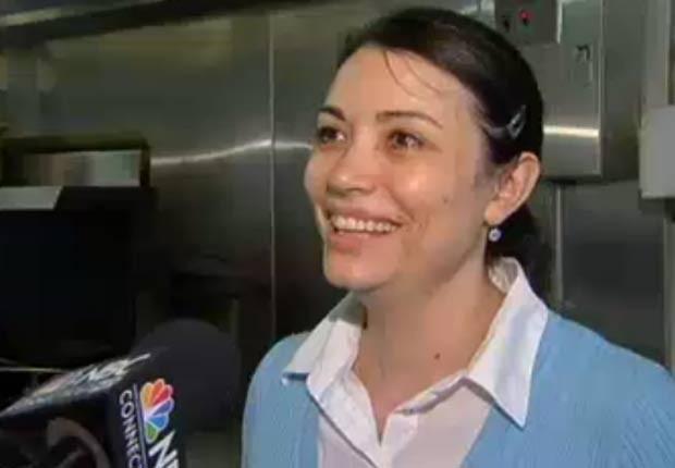 Dona da lanchonete, Tila Azinheira, disse que McLennon havia encomendado 14 sanduíches. (Foto: Reprodução)