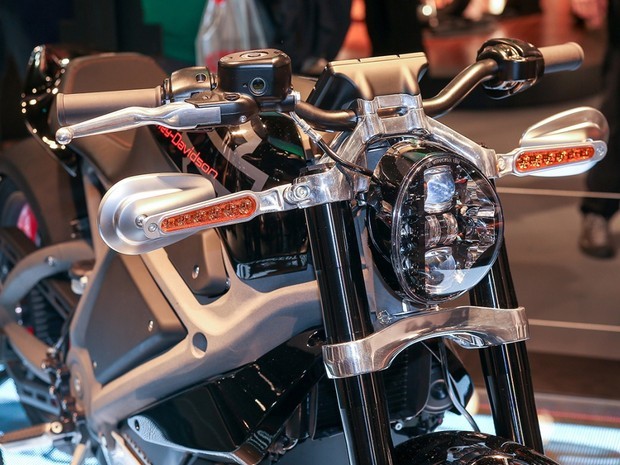 Harley-Davidson LiveWire elétrica (Foto: Divulgação / EICMA)