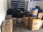 18,5 t de produtos são apreendidos em quatro dias na Dutra, no Sul do RJ