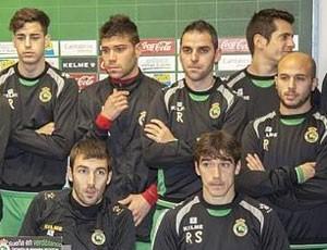 Jogadores coletiva Racing (Foto: Divulgação)