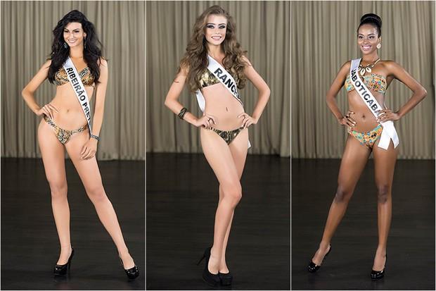 Miss Ribeirão Preto / Miss Rancharia / Miss Jaboticabal (Foto: Lucas Ismael / BAND)