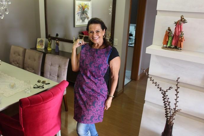 Ieda, participante do BBB17 (Foto: Nathália Gomes/Gshow)