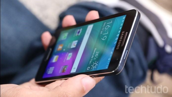 Samsung Galaxy A3 2 (Foto: Lucas Mendes/TechTudo)