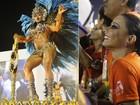 Gracyanne Barbosa comenta risos de Vivi Araújo durante seu desfile no Rio