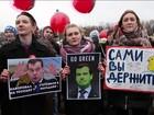 Prisões em massa de manifestantes na Rússia são alvo de protesto da UE