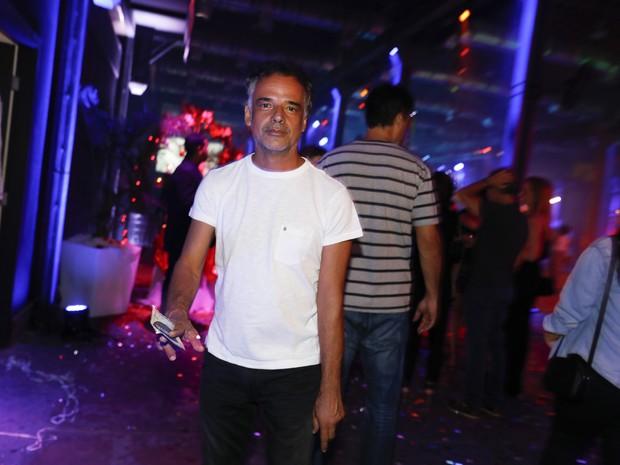 Ângelo Antônio em festa no Centro do Rio (Foto: Felipe Panfili/ Divulgação)