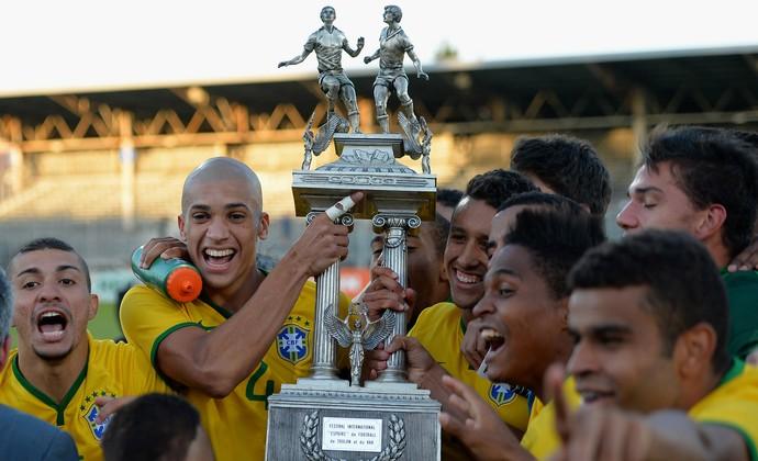 Brasil Campeão Torneio de Toulon (Foto: Getty Images )