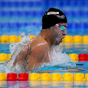 Thiago Pereira está nas semifinais dos 200m medley em Kazan (Foto: Satiro Sodré/SSPress)