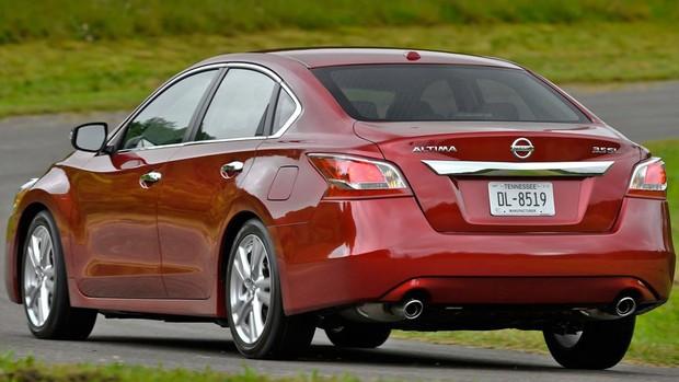 Veja fotos do Nissan Altima