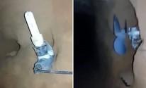 Sábado (30) - Vídeo mostra túnel de 30 metros escavado na Cadeia Pública de Natal (Reprodução)