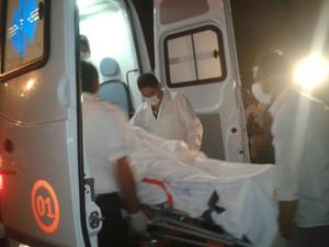 Juliane teve 40% do corpo queimado e quadro de saúde é estável (Foto: Jéssica Melo/TV Mirante)
