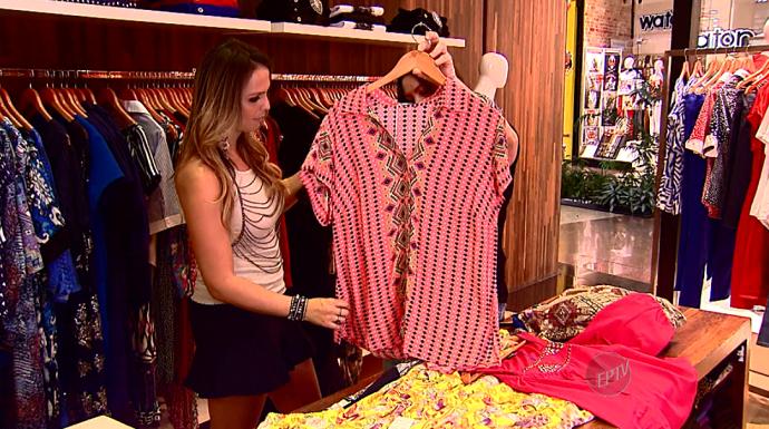 As lojas especializadas nos tamanhos Plus Size acompanham as tendências da moda (Foto: reprodução EPTV)