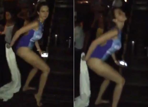 Ana Paula Renault dança funk 'Deu Onda', hit do momento, de maiô (Foto: Instagram / Reprodução)