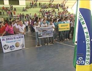 Abertura do Jiema (Foto: Reprodução/TV Rondônia)