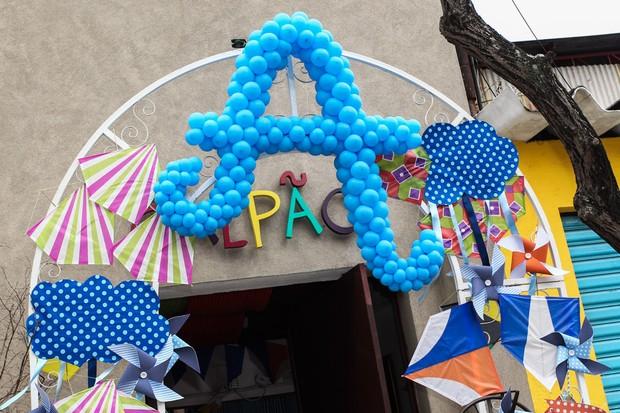 Decoração do aniversário de Arthur, filho de Eliana (Foto: Manuela Scarpa e Marcos Ribas / Foto Rio News)